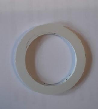 D23 těsnění bílé pod válec silikon
