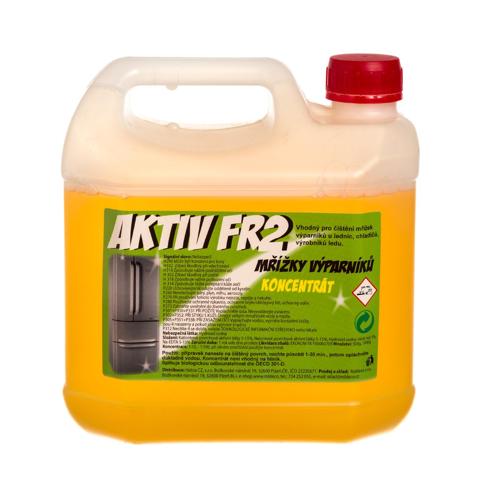 Aktiv FR2, alkalický koncentrát balení 3 kg