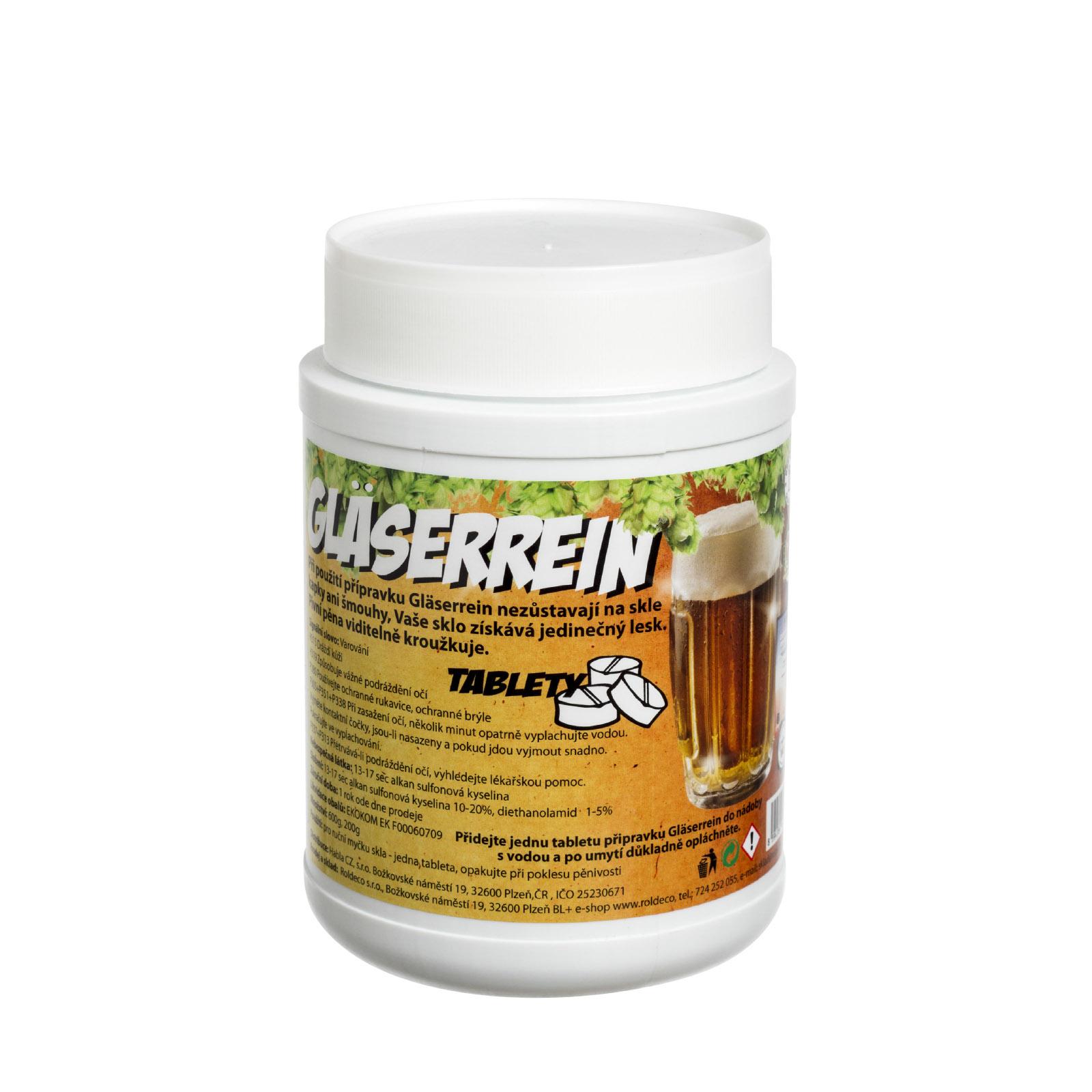 Gläserrein tablety - balení 600 g