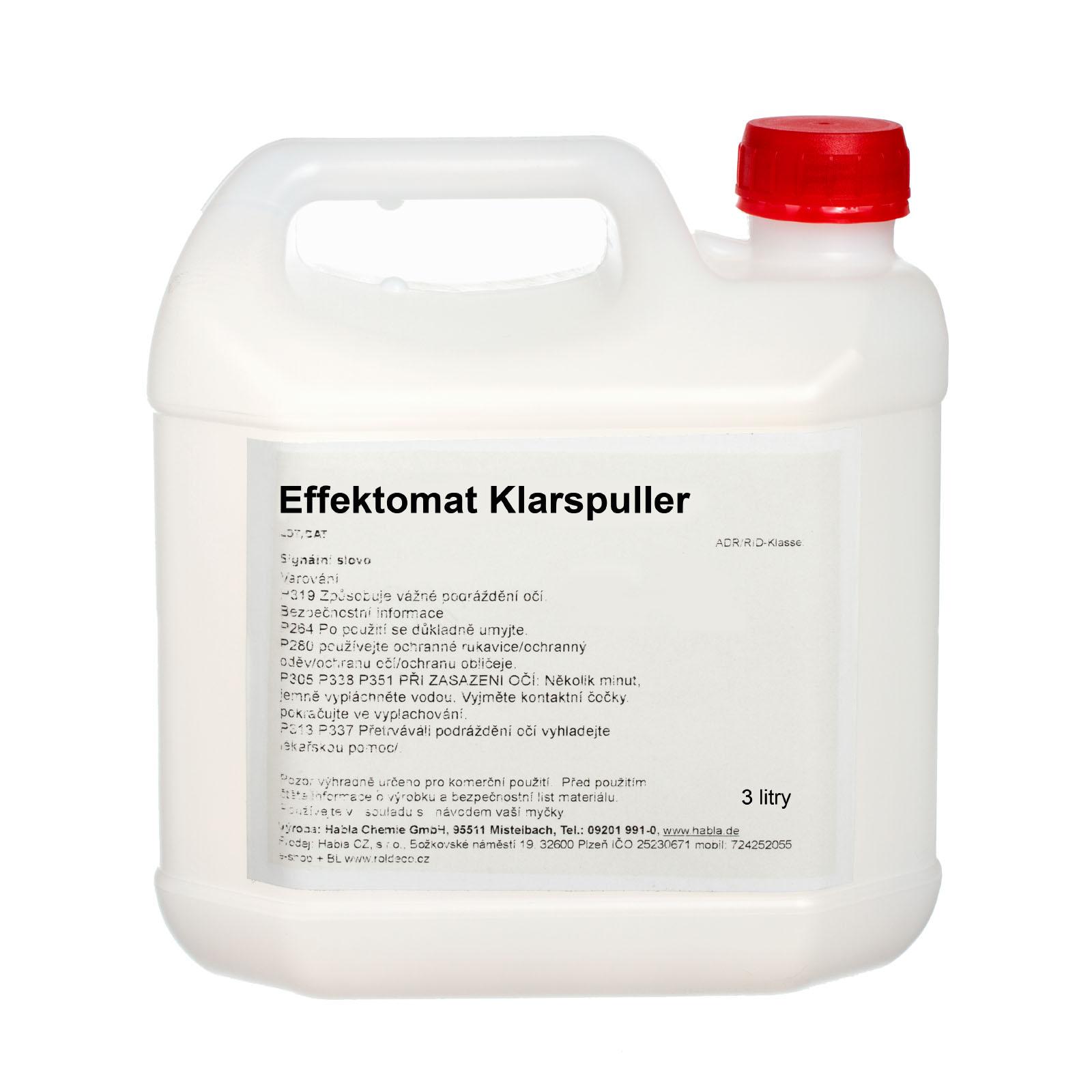 Klarspuller oplach pro automatické myčky - balení 3 kg (100 Kč/1kg)
