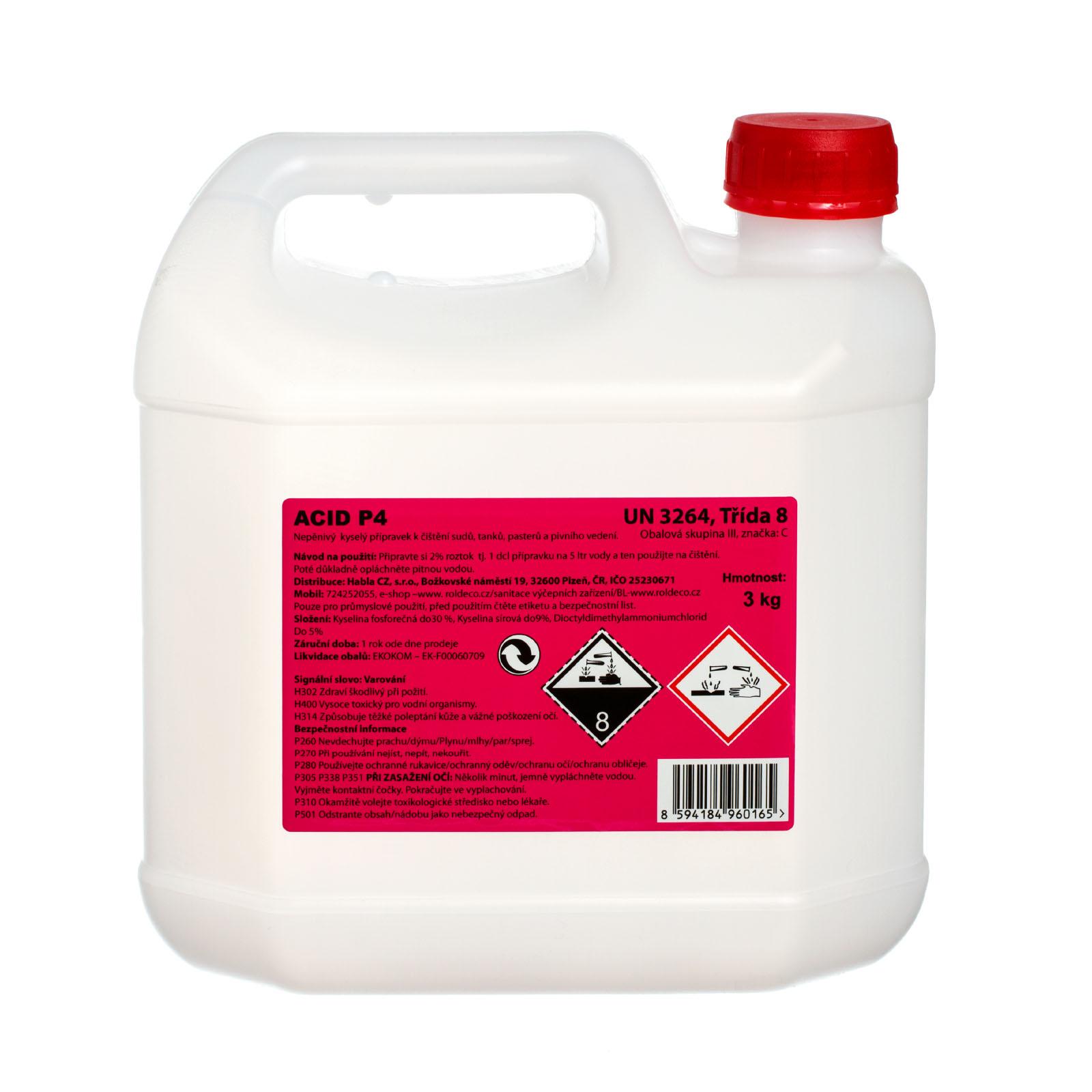 Primusol Acid P4 - balení 3 kg